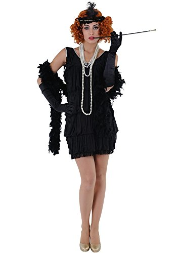 Imagen de disfraz de charlestón negro