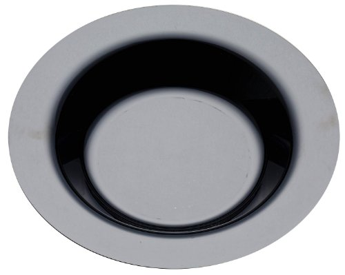 Thali Outlet-100x plastica nero 923cm/piatti ciotole per zuppa di pasta compleanno matrimonio, Sabert Moziak