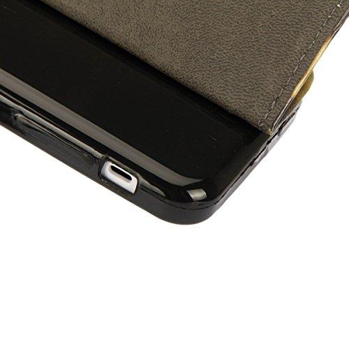 iPhone 6S Plus Hülle,iPhone 6 Plus Hülle, iPhone 6 Plus/ 6S Plus Hülle Ledertasche Brieftasche handyhülle im BookStyle, SainCat PU Leder Wallet Case Folio Schutzhülle Gemalt Muster Hülle Bumper Handyt Elefant