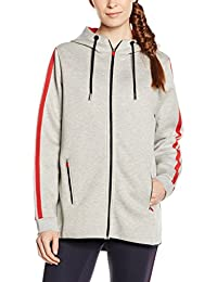 Tommy Hilfiger Th Athletic Long Hoodie, Sweat-Shirt àCapuche Femme
