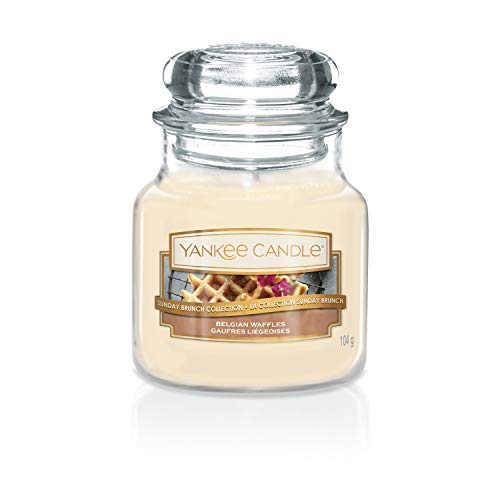Sunday Brunch Kollektion der Yankee Candle Kerze im kleinen Jar,