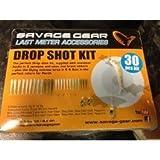 Savage Gear Dying Minnow Drop Shot Pro Pack Kit (30-teiliges Set) - Angelset für Raubfische, Angelköder in verschiedenen Farben & Größen, Dropshot Angeln, Gummifische und Standout Haken