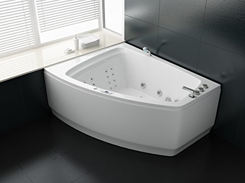 Trade-Line-Partner Luxus Whirlpool Badewanne 180×140 + Vollausstattung ! (MASSAGE) – SONDERAKTION !