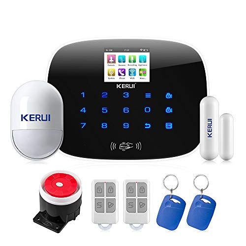kerui-2018Neue Ankunft W193WiFi 3g GSM WCDMA Sim PSTN RFID Wireless Smart Kit System-Alarm Sicherheit Wireless Magnetischer Fenster Sensor - Wireless-alarm-system