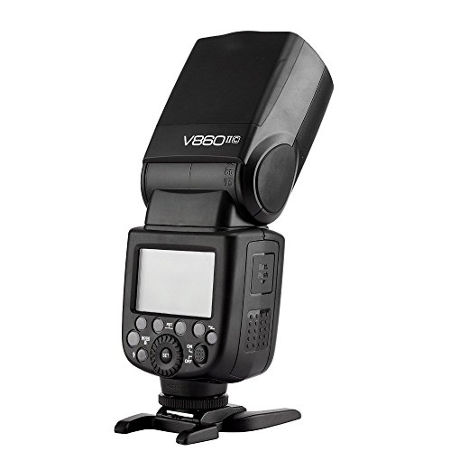 For Sale Godox V860C II V860II-C + Transmitter X1TC E-TTL HSS 2.4G Build-In Transceiver Li-ion Battery Flash for Canon With EACHSHOT Color Filter + Softbox