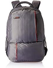 VIP Median 27 Ltrs Steel Grey Laptop Backpack (LPBPMED01SGY)