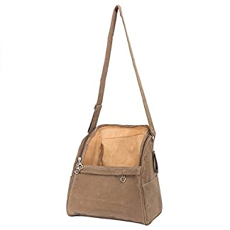 Carry Handbag for Pets, SymbolLife Sling Shoulder Bag Comfortable Puppy Kitty Rabbit Pet Carrier Handbag, Size 32cm x… 7