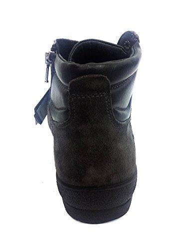 Igi & Co 66781 Gris Anthracite Chaussures Homme Chaussures Lacets En Daim Gris Moyen