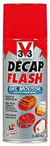V33 - Decapant Flash Gel Mousse Aerosol 400Ml