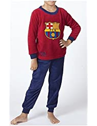 Pijama FC Barcelona tacto coral talla 3 a 8 - 6