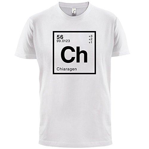 Chiara Periodensystem - Herren T-Shirt - 13 Farben Weiß