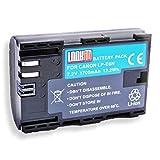 LOOKit Battery Pack LP-E6N - für Canon 6D MARK II, Canon EOS 5D Mark IV, Canon EOS 80D EOS 5DS EOS 5DS R EOS 7D Mark II