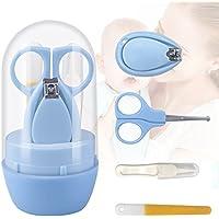 S/äugling und Kleinkind Frcolor 5 St/ück Nagelpflege Pflegeset f/ür Neugeborenes Rosa Baby