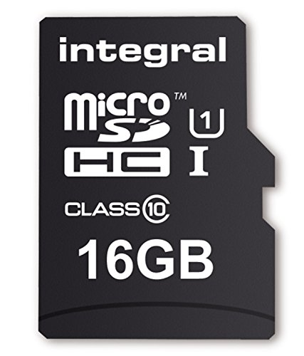 Integral SD Card 16GB with SD Adapter Class 10 lowest price