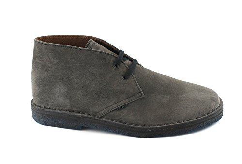 Frau 25D1 Chaussures Gris Ardoise Chaussures de Marche Homme Lacets Cheville de Type