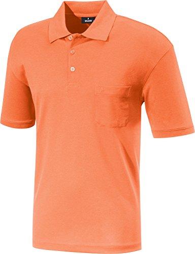 Preisvergleich Produktbild RAGMAN Herren RAGMAN Kurzarm Softknit Poloshirt Large,  Orange