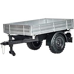 Carson 500907319 500907319-1:12 Remorque U300 RC Unimog Accessoires Modèle Argent