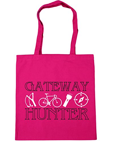 hippowarehouse-gateway-hunter-tote-shopping-gym-beach-bag-42-cm-38-38-10-liter-gr-einheitsgrosse-fuc