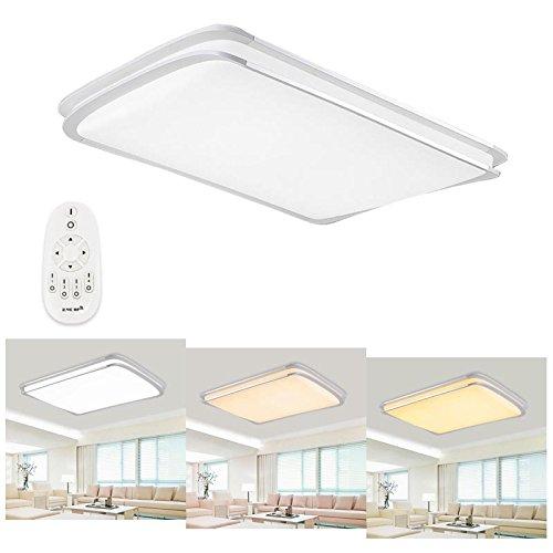 Hengda LED Deckenleuchte Dimmbar Fernbedienung Lichtfarbe und Helligkeit einstellbar Moderne Esszimmer Leuchte Deckenlampe, Deckenbeleuchtung, wandlampe, strahler, Wohnzimmerlampe