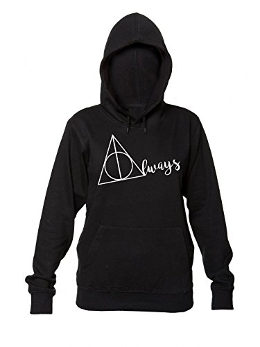 Always Stylized Letter Sudadera con capucha para mujer