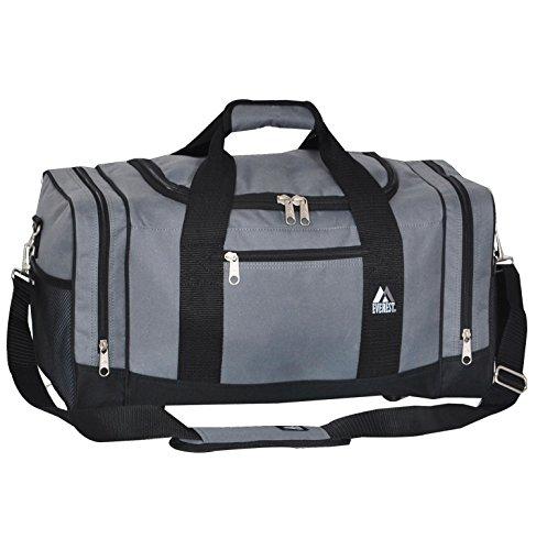 Everest  Everest Sporty Crossover Duffel Bag, Borsone  Adulti, Orange (arancione) - 020-OG/BK Dark Gray