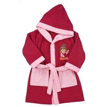 Sterntaler 96902-104051 Mädchen Babykleidung/ Bademntel, Gr. 104 0 (rosa) (rosa)