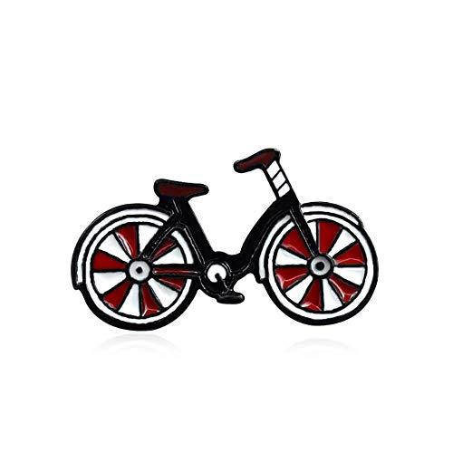 Vektenxi Premium Qualität Cartoon Emaille Fahrrad Abzeichen Kragen Revers Brosche Kleidung Schmuck Tasche Decor