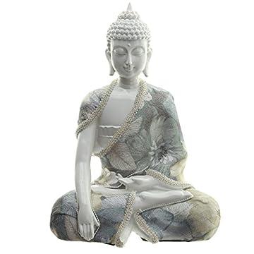 Decorativo floral Relajación figura decorativa de Buda 3