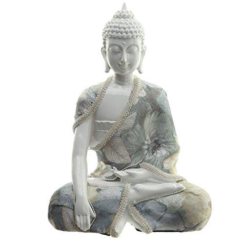 Decorativo floral Relajación figura decorativa de Buda