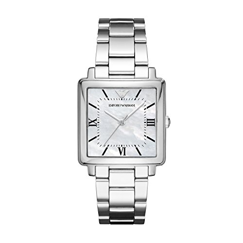 Emporio Armani Womens Quartz Watch with Stainless Steel Strap AR11065