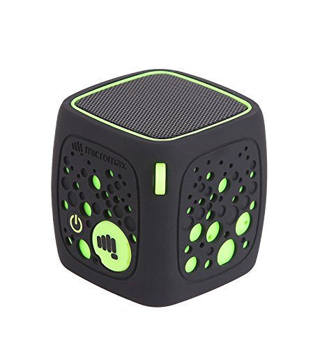 Micromax Play MBT3WSF Portable Bluetooth Speakers (Green)