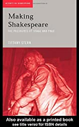 Making Shakespeare: From Stage to Page (Accents on Shakespeare)