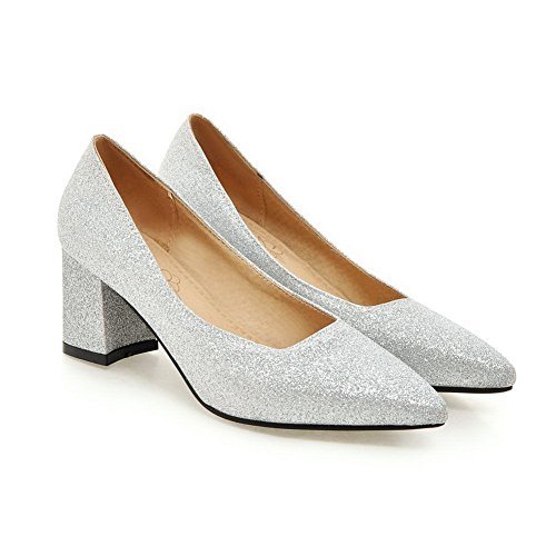 Balamasaapl10285 - Sandales Compensées En Argent Pour Femme