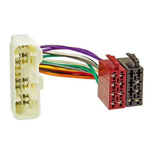 tomzz Audio 7021-000 Radio Adapter Kabel für Isuzu D-Max, Rodeo, Toyota Landcruiser auf 16pol ISO Norm (Isuzu Zubehör Rodeo)