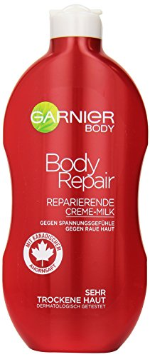 Haut Repair Lotion (Garnier Body Feuchtigkeitscreme Body Repair, 400 ml)