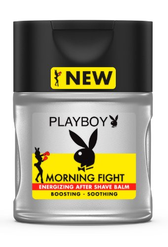 Playboy men Morning Fight After Shave Balm 100 ml, 1er Pack (1 x 100 ml) -
