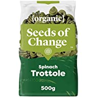 Seeds of Change Organic Spinach Pasta Trottole, 500g