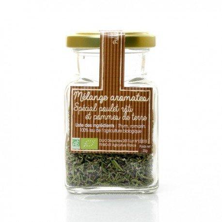 Aromates bio du Périgord spécial poulet roti et pommes de terres 20g