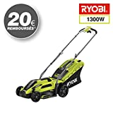 Ryobi RLM13E33S Electric Lawnmower 1300 W 33 cm Cut