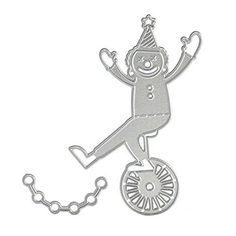 Rokoo Bricolage Découpe en métal Acier au carbone Verrouillage de clé Dies Stencil Scrapbook Embossing Card Album Craft Nouvelle mode