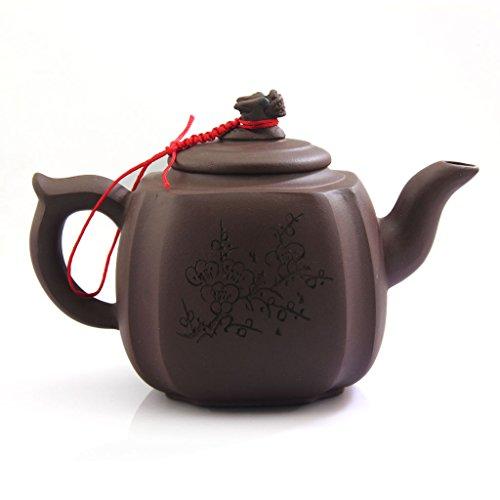 Chinese seltenes Yixing lila Clay Keramik Zisha Dragon Teekanne Teekanne 350ml FM03