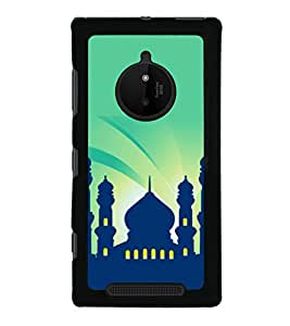printtech Building Holy Back Case Cover for Nokia Lumia 830 RM-984