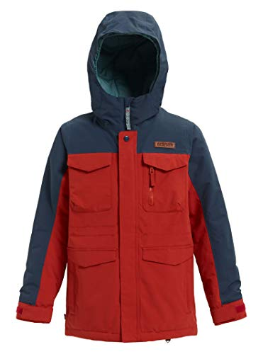 Burton Jungen Covert Snowboard Jacke, Bitters/Mood Indigo, L (Down Jacket Burton)