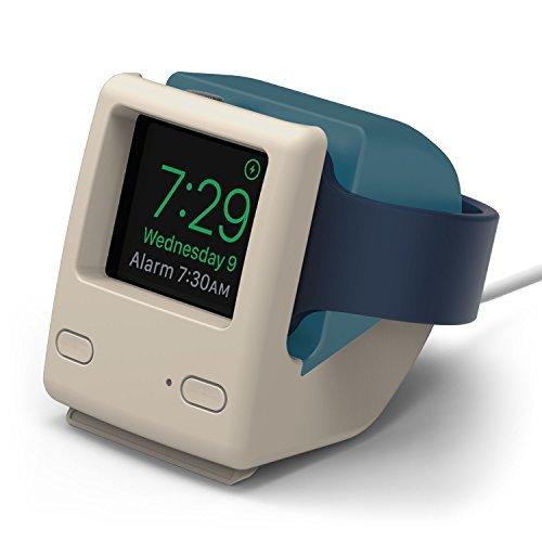 elago W4–Soporte–[Vintage diseño de 1988] [soporta mesita de noche–Modo] [Cable Management] para Apple Watch Series 1y 2