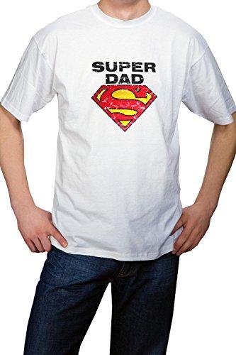 T-shirt Geschenk Vatertag Super Dad Papa Geschenk XXL (XX-large) Umstandsmode von MY TUMMY ®©™
