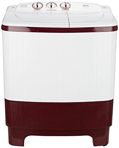 BPL 6.2 kg Semi-Automatic Top Loading Washing Machine (BSATL62N1, Maroon)