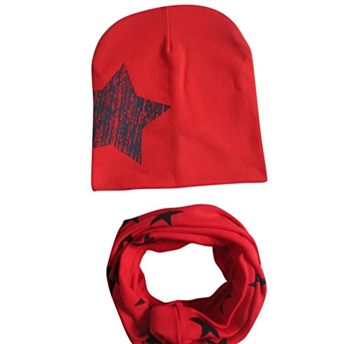 baby-hat-scarftefamore-boys-girls-infant-children-scarf-child-scarf-hats-caps-red