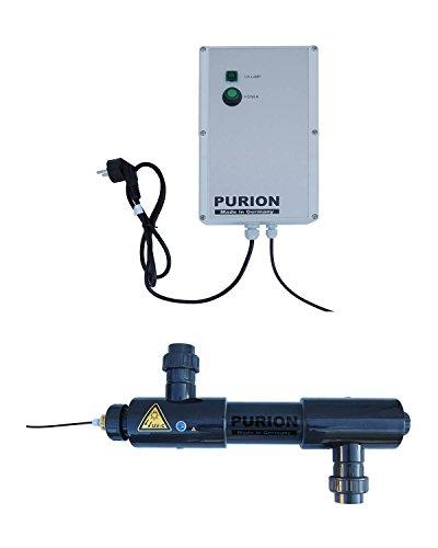 PURION 2001 système UV filtre de piscine jusqu'à 30m³ 48W UV-C désinfection PVC-U
