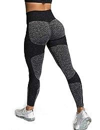 ShinyStar Damen Sport Leggings Lange Blickdicht Kompressions Yoga Fitnesshose Sporthose mit Hohe Taille für Workout Gym Jogging