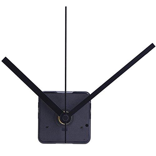 Lautloses Quarz-Uhrwerk,Maximale Zifferblatte von 11/25Zolldick,Gesantschaftlänge von 4 /5 Zoll, Schwarz